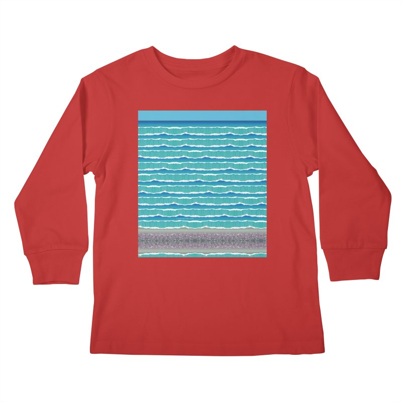 O-cean Kids Longsleeve T-Shirt by liuyingchieh's Artist Shop