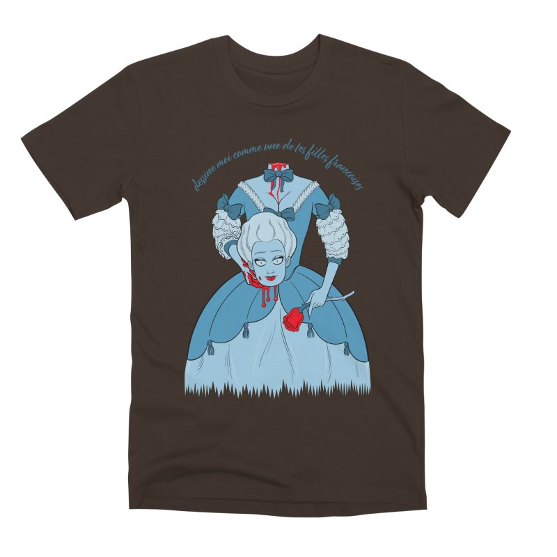 Draw Me Like One of your French Girls Men's Premium T-Shirt by Live Nude Ghouls Artist Shop