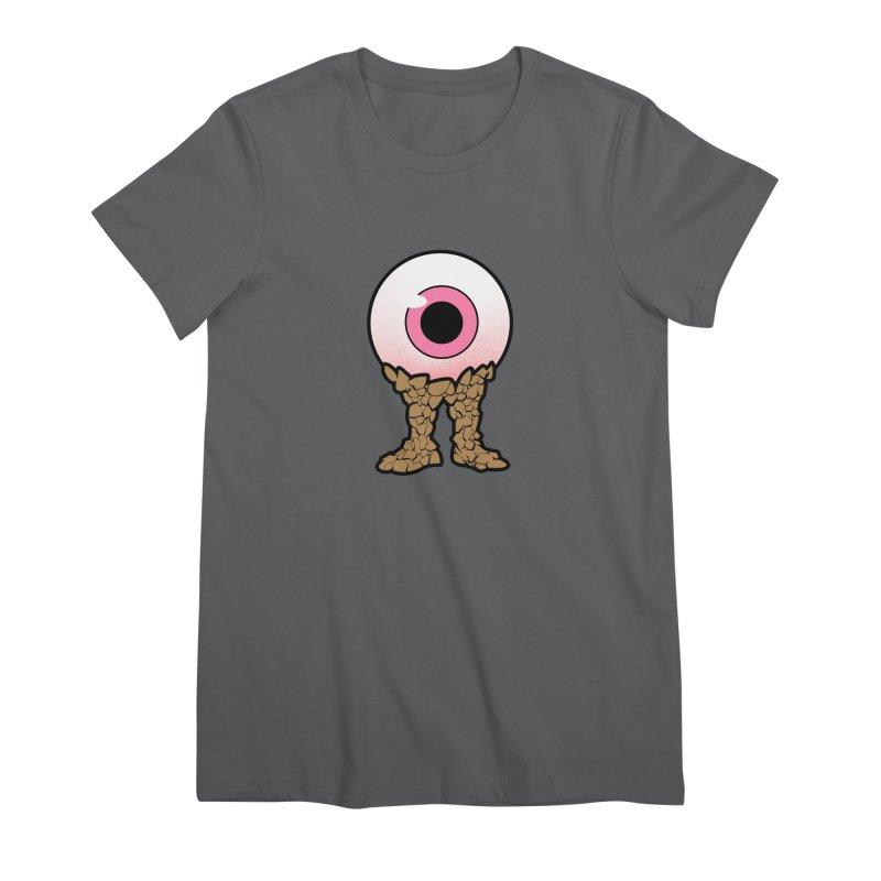 PinkEyeGuy Women's T-Shirt by Live Nude Ghouls Artist Shop
