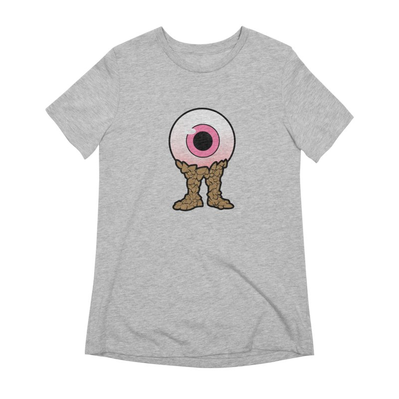 PinkEyeGuy Women's Extra Soft T-Shirt by Live Nude Ghouls Artist Shop