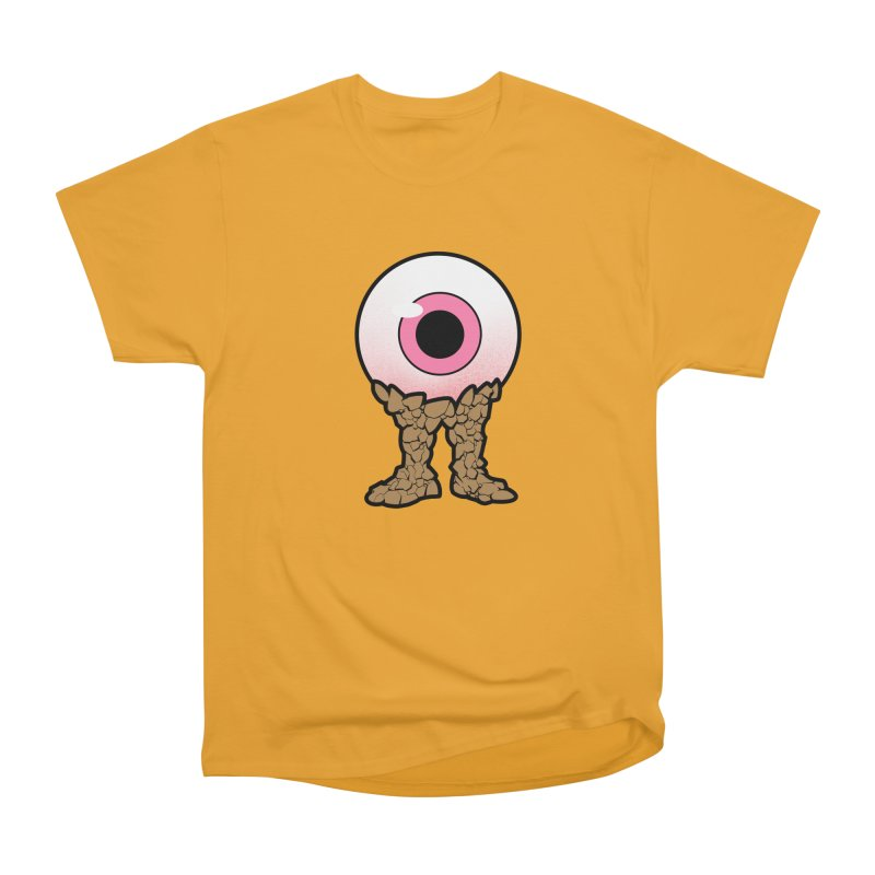 PinkEyeGuy Women's Heavyweight Unisex T-Shirt by Live Nude Ghouls Artist Shop