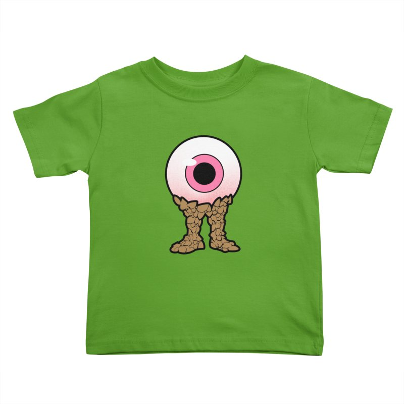 PinkEyeGuy Kids Toddler T-Shirt by Live Nude Ghouls Artist Shop
