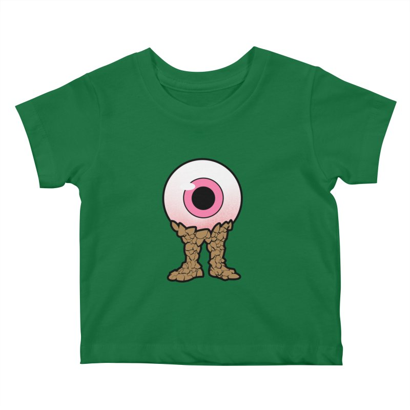 PinkEyeGuy Kids Baby T-Shirt by Live Nude Ghouls Artist Shop
