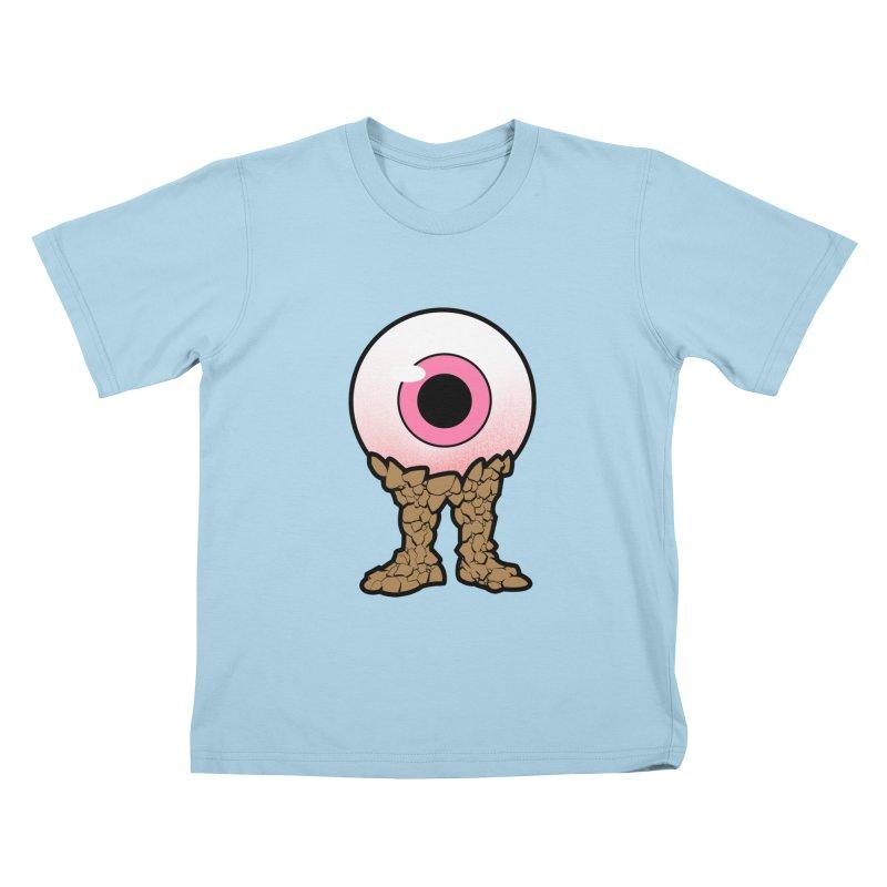 PinkEyeGuy Kids T-Shirt by Live Nude Ghouls Artist Shop