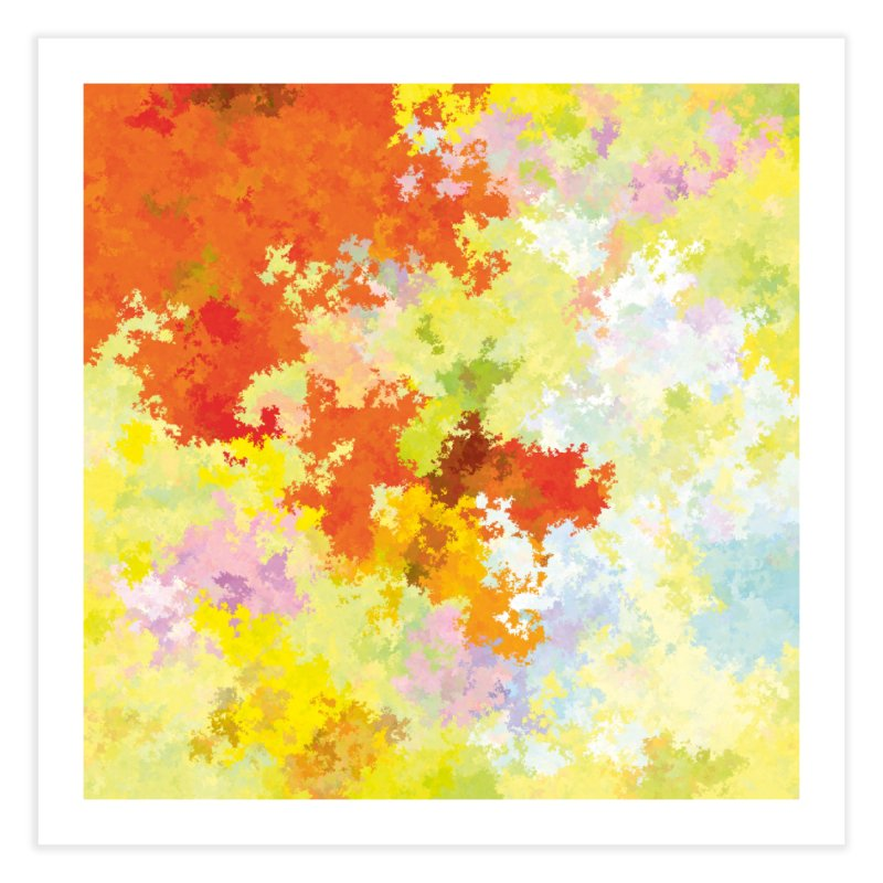 Diviso4 - 170901/043805 Home Fine Art Print by Livin' bits