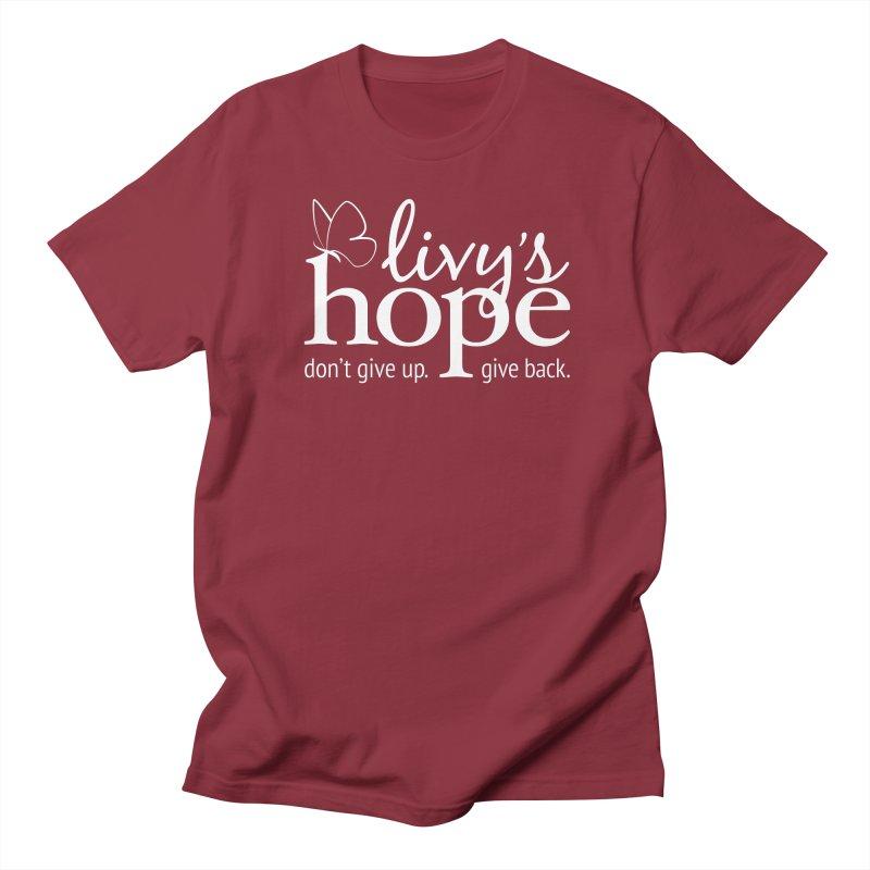 Livy's Hope in White Women's Regular Unisex T-Shirt by Livy's Hope Shop