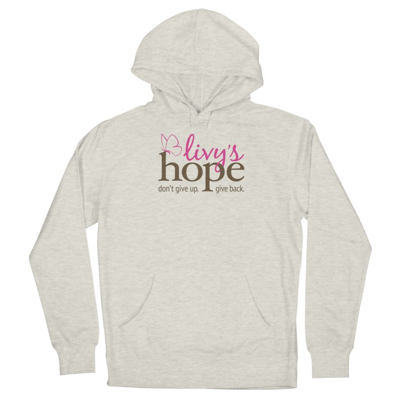 Livy's Hope in Color Men's Pullover Hoody by Livy's Hope Shop