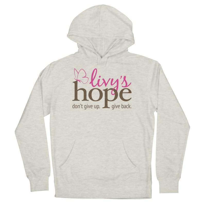 Livy's Hope in Color Men's French Terry Pullover Hoody by Livy's Hope Shop