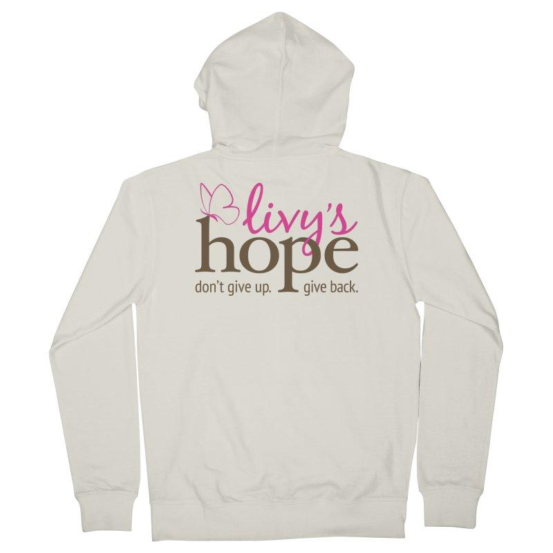 Livy's Hope in Color Men's Zip-Up Hoody by Livy's Hope Shop