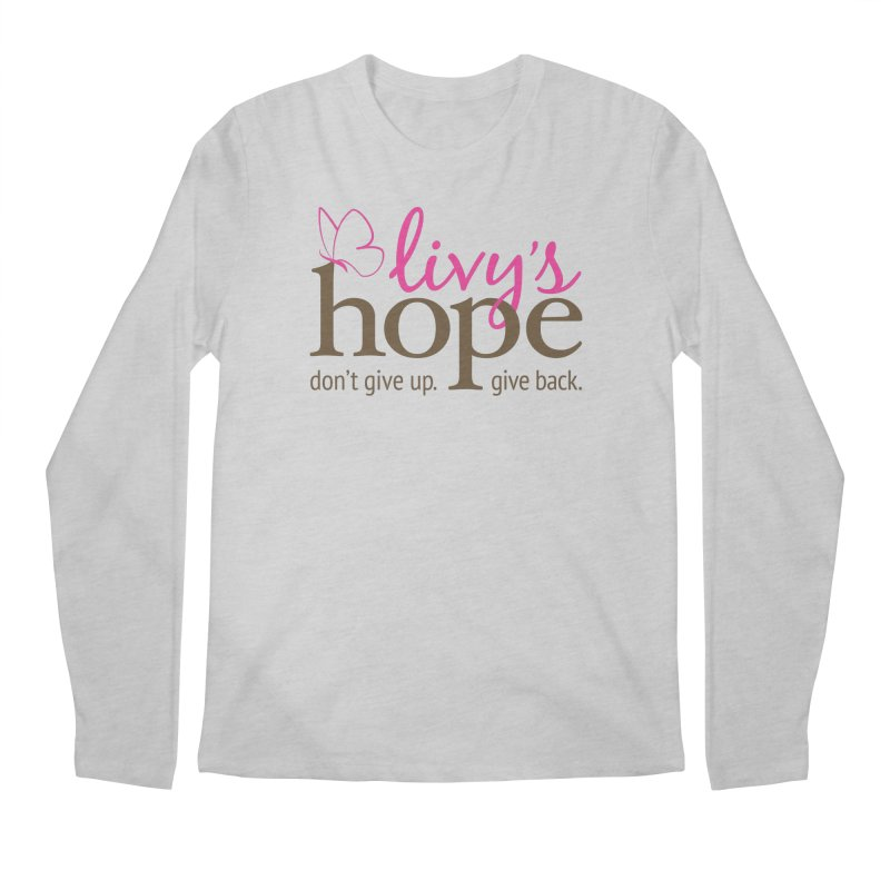 Livy's Hope in Color Men's Longsleeve T-Shirt by Livy's Hope Shop