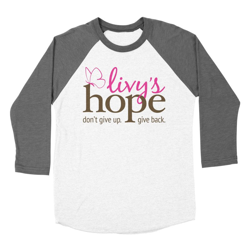 Livy's Hope in Color Women's Baseball Triblend Longsleeve T-Shirt by Livy's Hope Shop