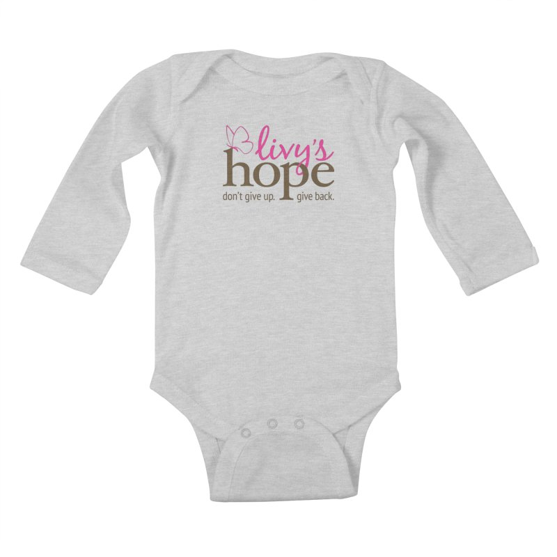 Livy's Hope in Color Kids Baby Longsleeve Bodysuit by Livy's Hope Shop