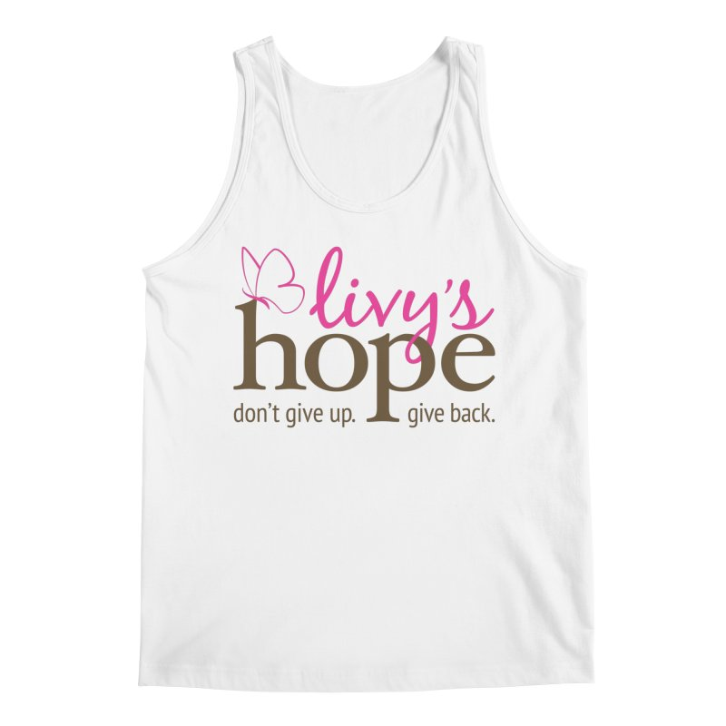 Livy's Hope in Color Men's Tank by Livy's Hope Shop