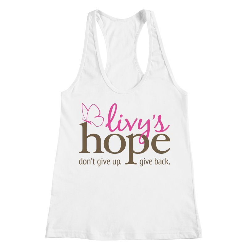 Livy's Hope in Color Women's Racerback Tank by Livy's Hope Shop