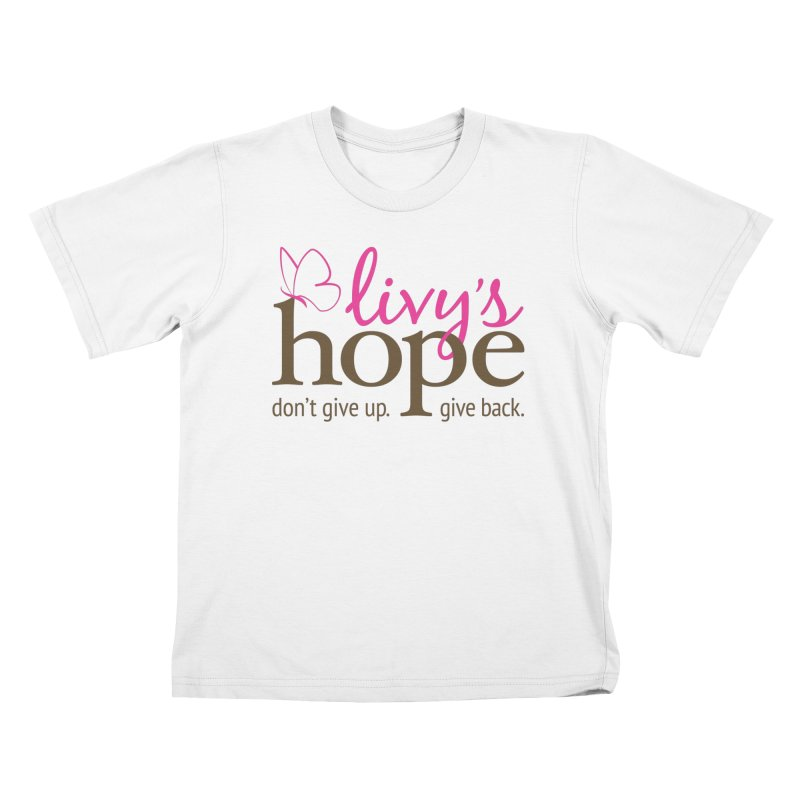 Livy's Hope in Color Kids T-Shirt by Livy's Hope Shop