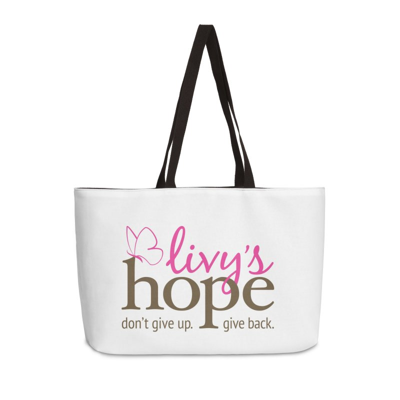 Livy's Hope in Color Accessories Weekender Bag Bag by Livy's Hope Shop