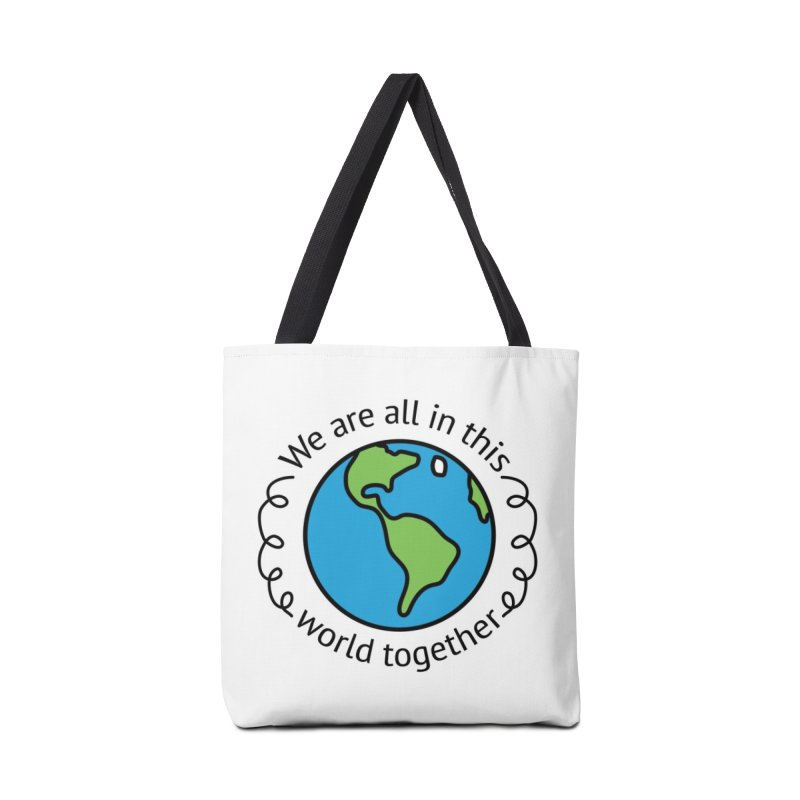In This World Together Accessories Bag by Livy's Hope Shop