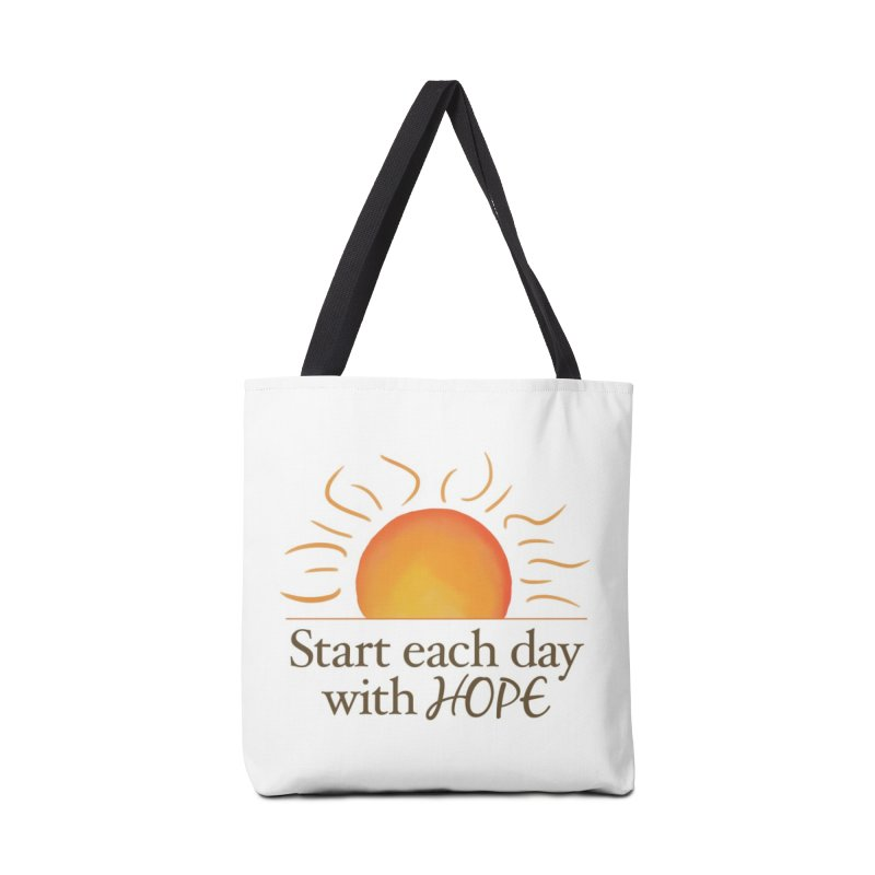 Start Each Day With Hope Accessories Bag by Livy's Hope Shop