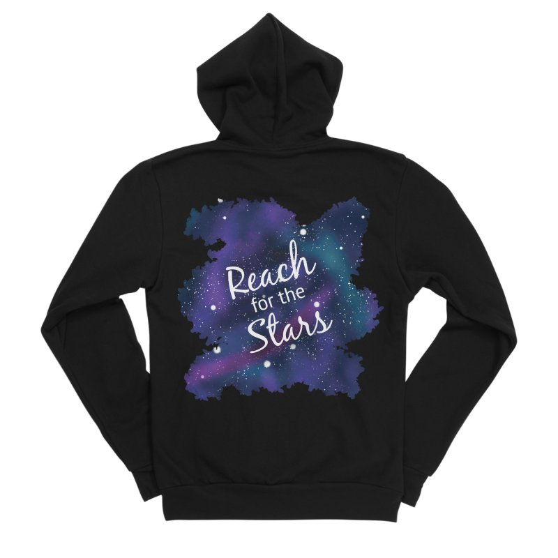 Reach for the Stars Men's Sponge Fleece Zip-Up Hoody by Livy's Hope Shop