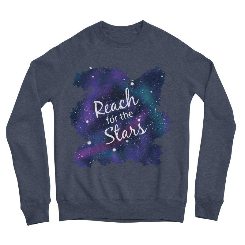 Reach for the Stars Men's Sponge Fleece Sweatshirt by Livy's Hope Shop