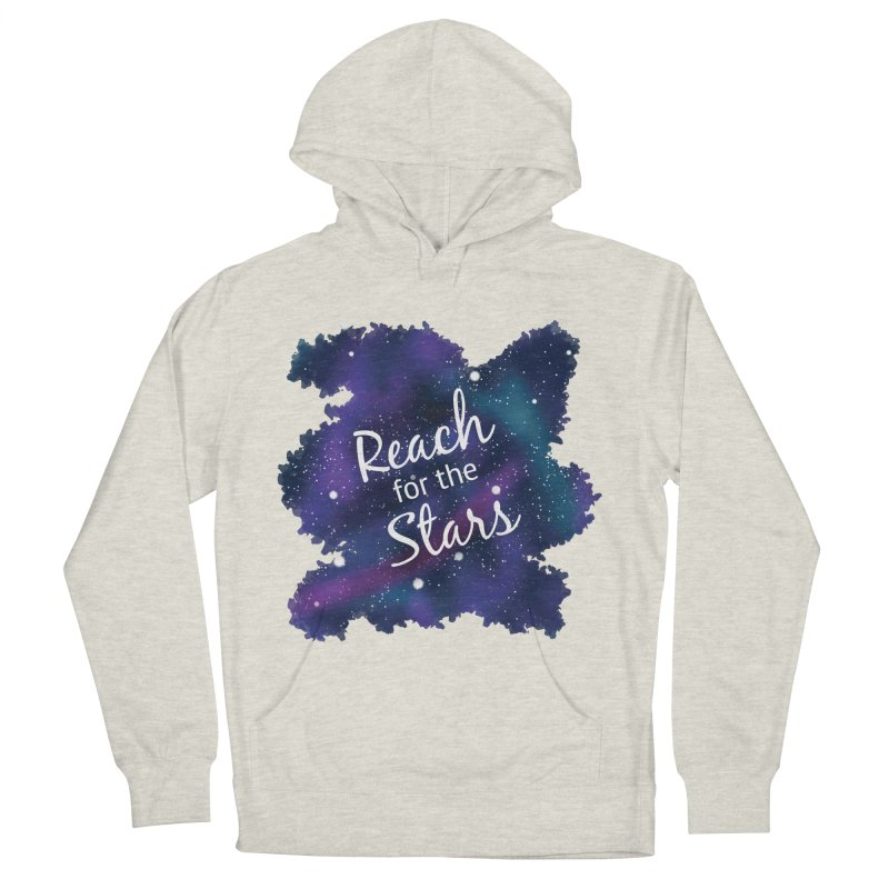 Reach for the Stars Men's French Terry Pullover Hoody by Livy's Hope Shop