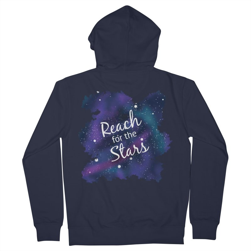 Reach for the Stars Women's French Terry Zip-Up Hoody by Livy's Hope Shop