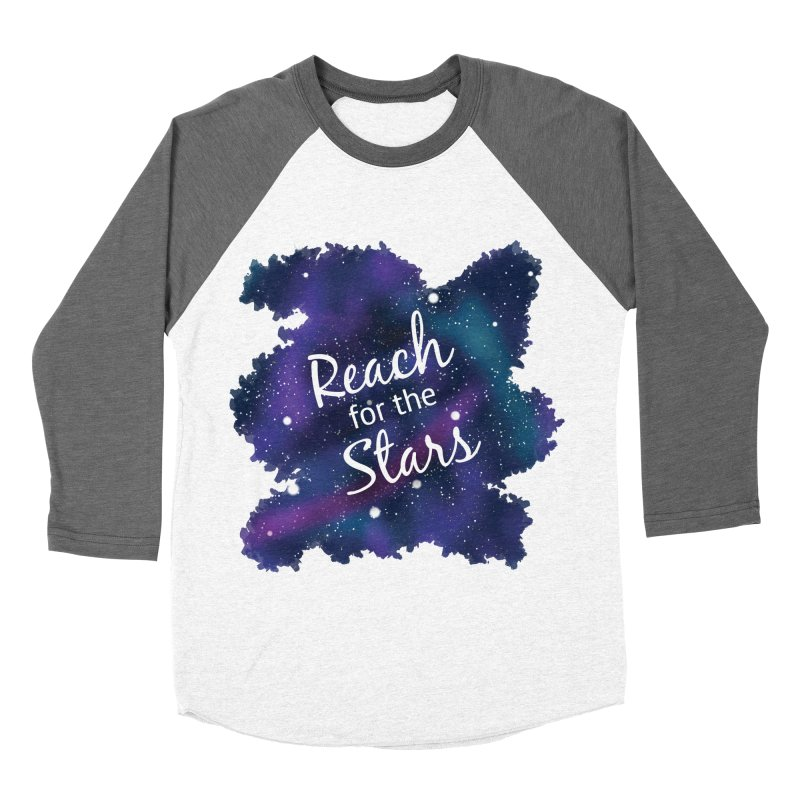 Reach for the Stars Men's Baseball Triblend Longsleeve T-Shirt by Livy's Hope Shop