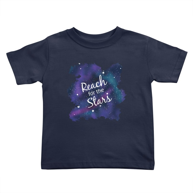 Reach for the Stars Kids Toddler T-Shirt by Livy's Hope Shop