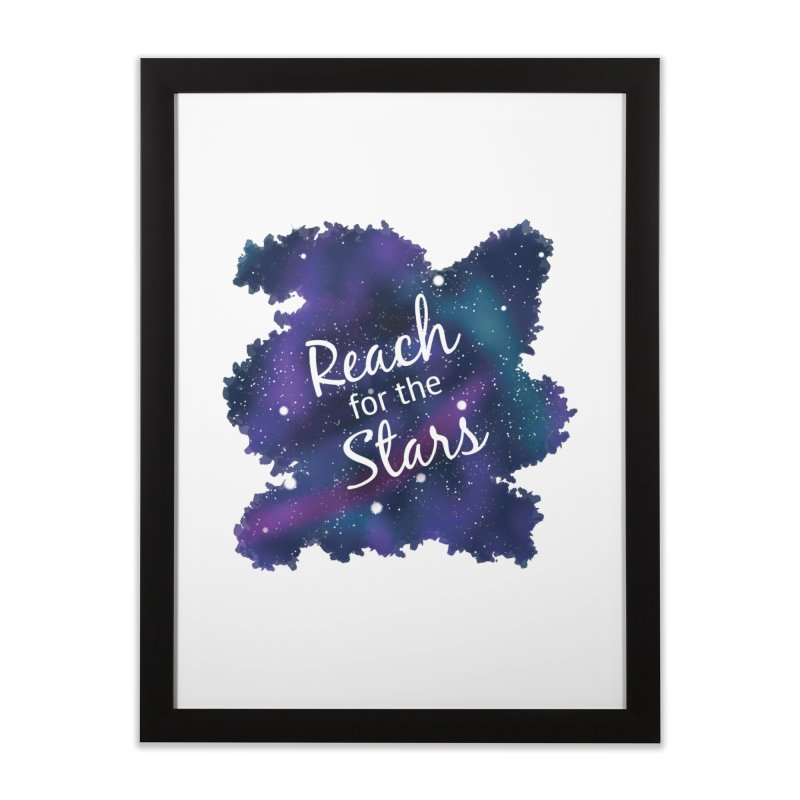 Reach for the Stars Home Framed Fine Art Print by Livy's Hope Shop