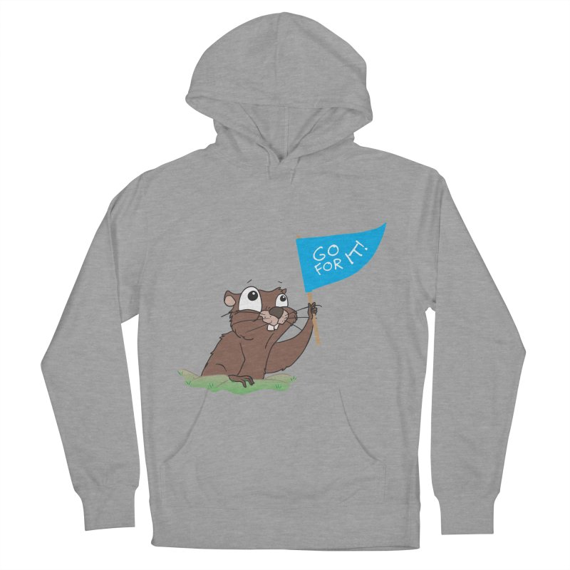 Gopher it! Women's Pullover Hoody by LLUMA Creative Design