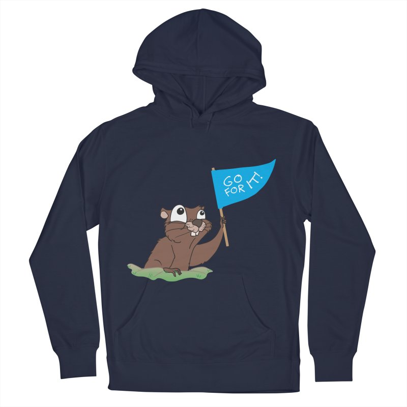 Gopher it! Men's Pullover Hoody by LLUMA Creative Design
