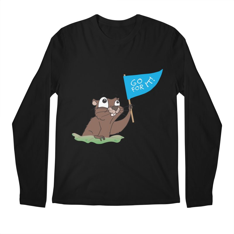 Gopher it! Men's Longsleeve T-Shirt by LLUMA Creative Design