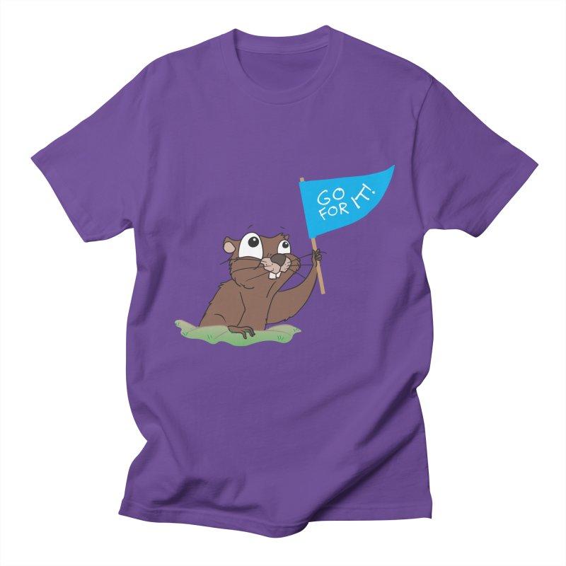 Gopher it! Women's Regular Unisex T-Shirt by LLUMA Creative Design