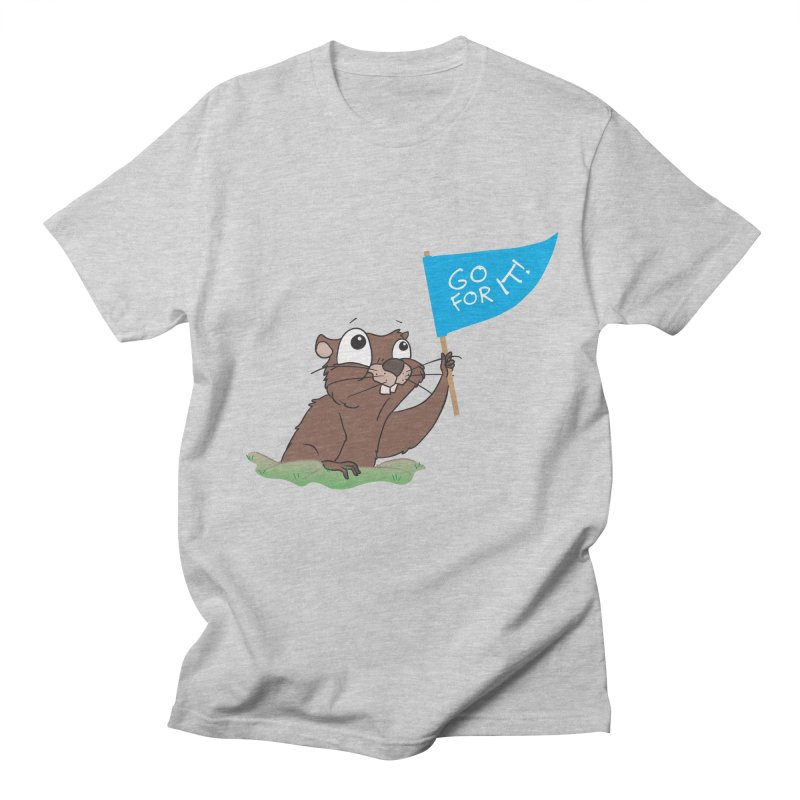 Gopher it! Men's T-Shirt by LLUMA Creative Design