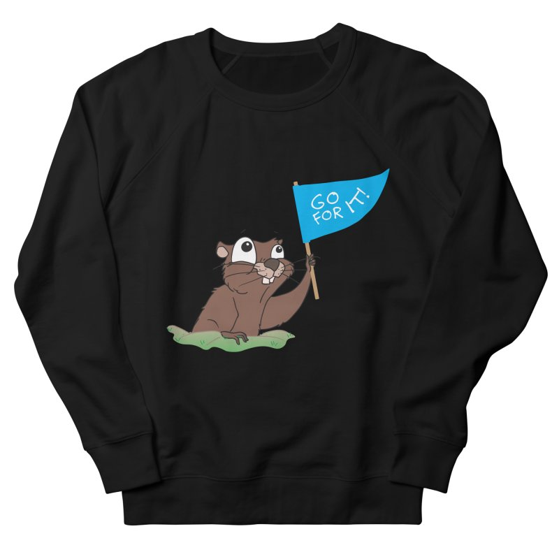 Gopher it! Women's Sweatshirt by LLUMA Creative Design