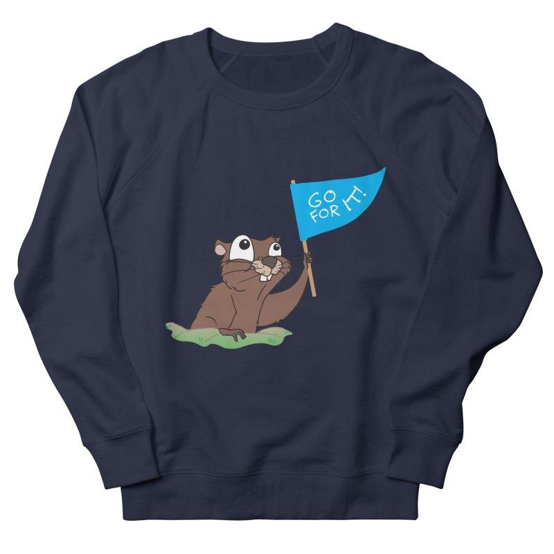 Gopher it! Men's French Terry Sweatshirt by LLUMA Creative Design