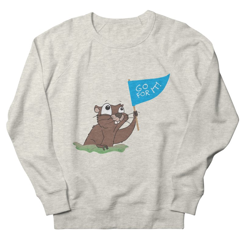 Gopher it! Men's Sweatshirt by LLUMA Creative Design