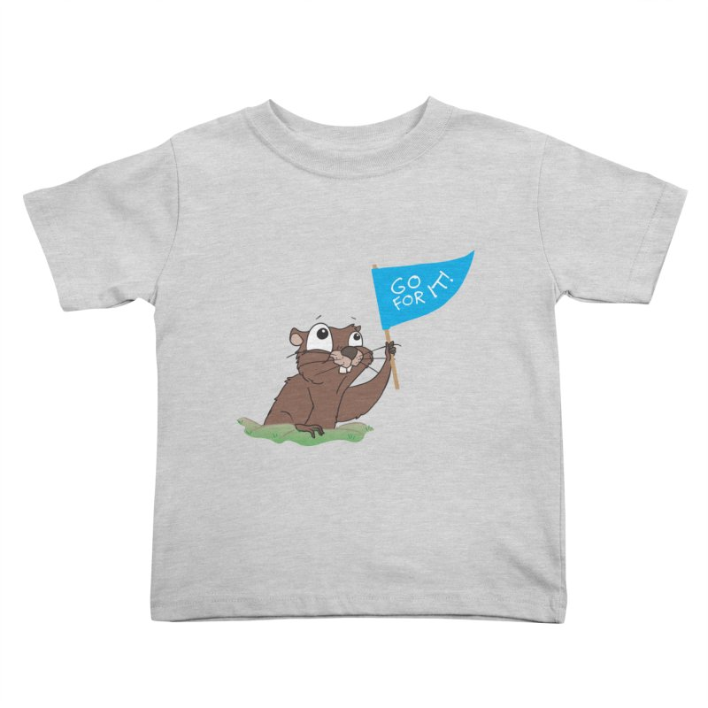 Gopher it! Kids Toddler T-Shirt by LLUMA Creative Design