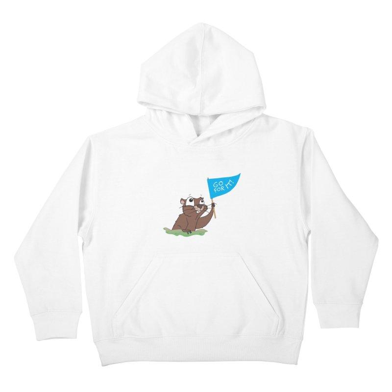 Gopher it! Kids Pullover Hoody by LLUMA Creative Design