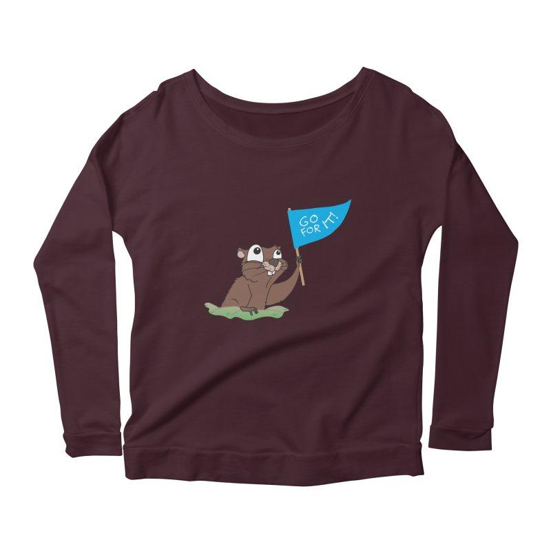 Gopher it! Women's Longsleeve T-Shirt by LLUMA Creative Design