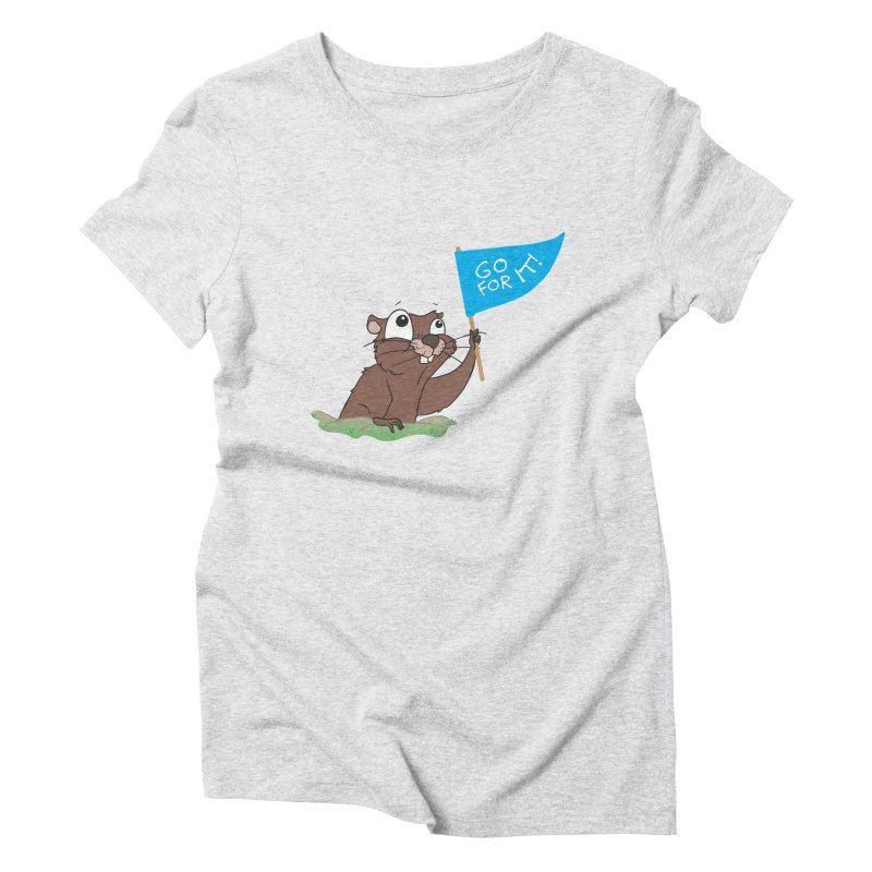 Gopher it! Women's T-Shirt by LLUMA Creative Design