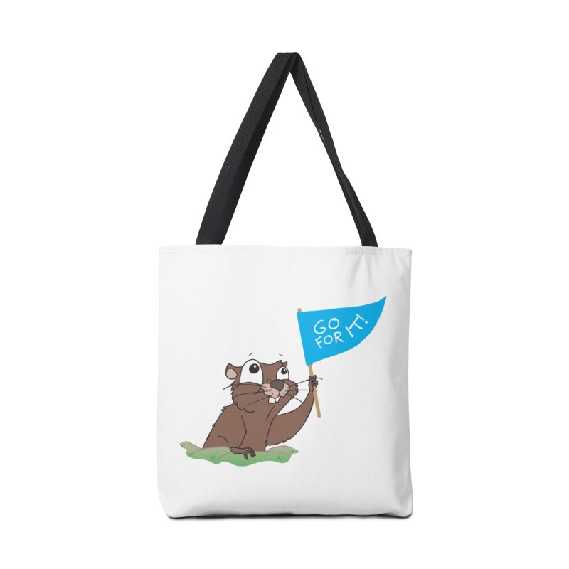 Gopher it! Accessories Tote Bag Bag by LLUMA Creative Design