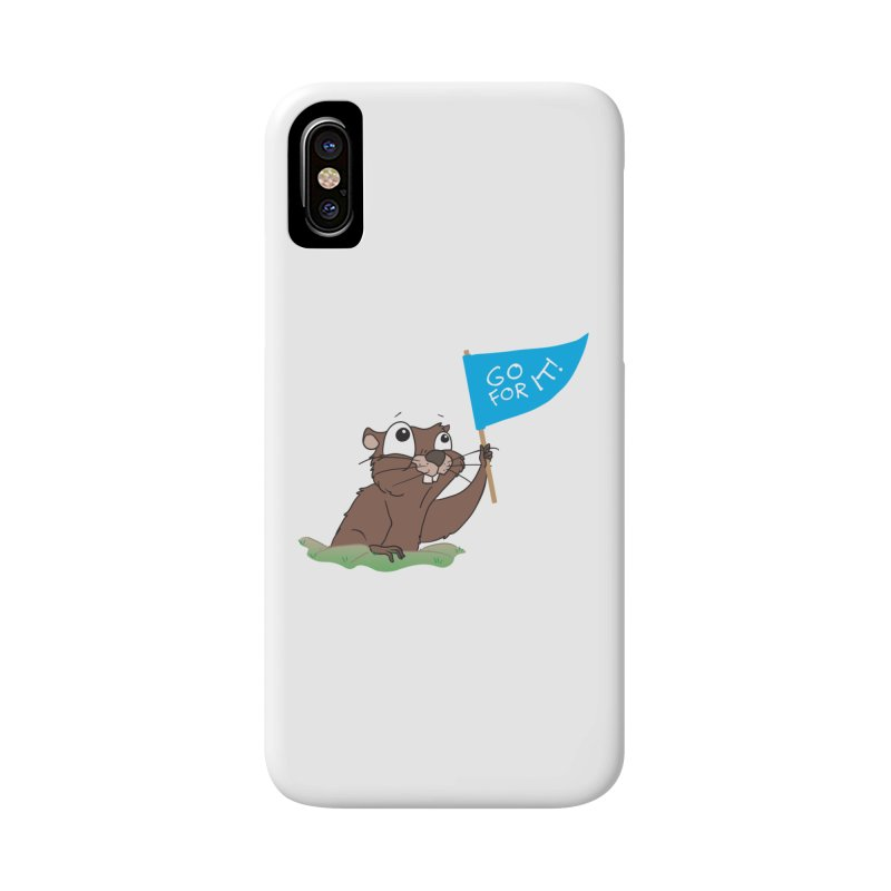 Gopher it! Accessories Phone Case by LLUMA Creative Design