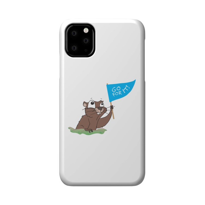 Gopher it! Accessories Phone Case by LLUMA Creative Design