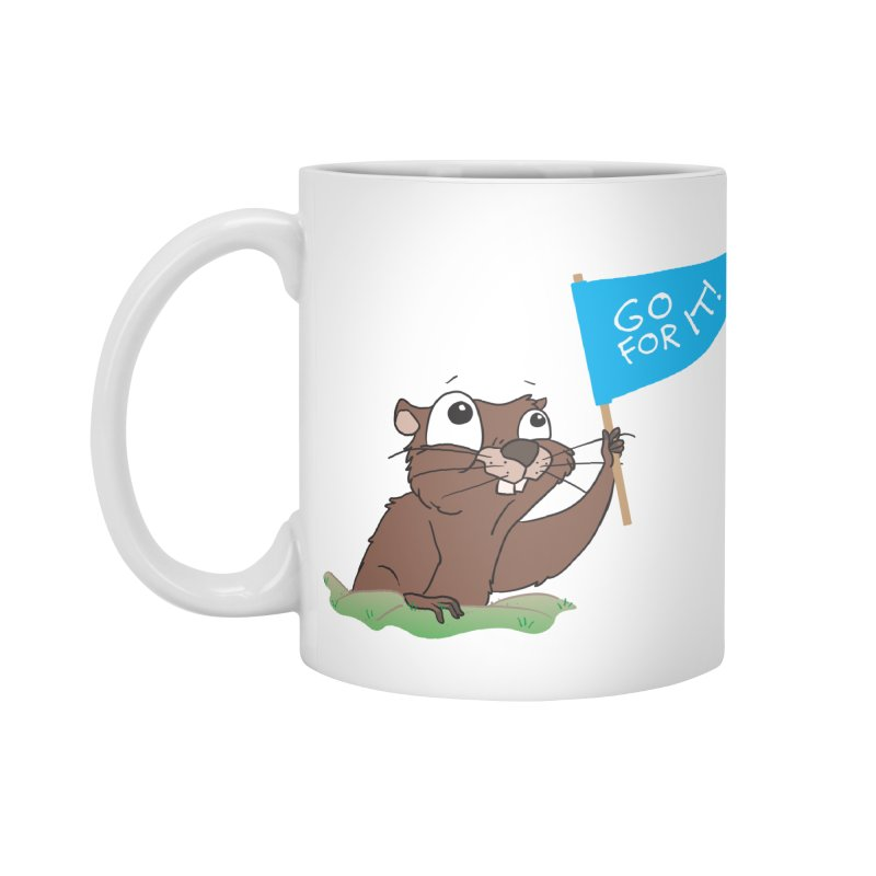 Gopher it! Accessories Standard Mug by LLUMA Creative Design