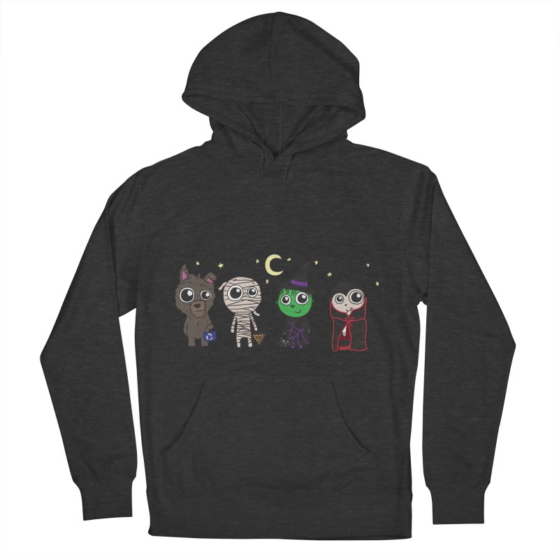 Happy Halloween! Men's French Terry Pullover Hoody by LLUMA Creative Design