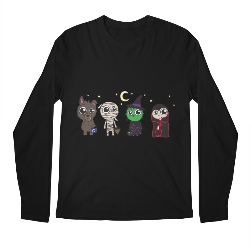 Happy Halloween! Men's Regular Longsleeve T-Shirt by LLUMA Creative Design