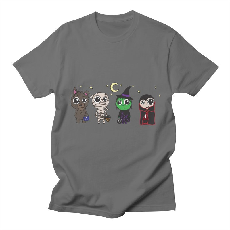 Happy Halloween! Men's Regular T-Shirt by LLUMA Creative Design