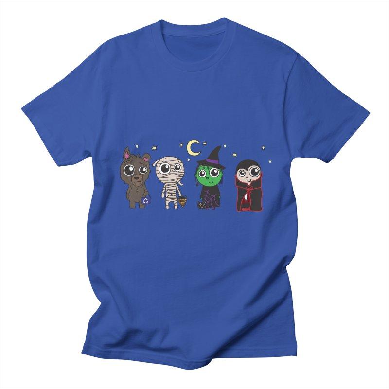 Happy Halloween! Men's Regular T-Shirt by LLUMA Creative Design