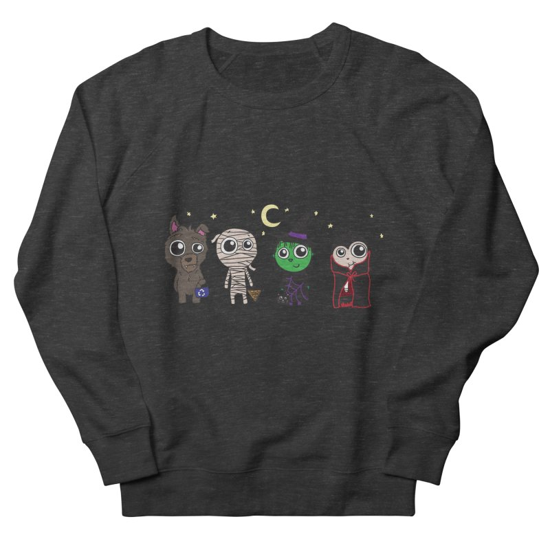 Happy Halloween! Men's French Terry Sweatshirt by LLUMA Creative Design